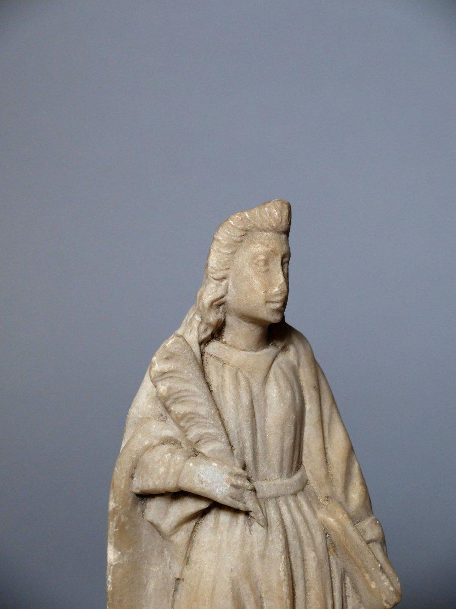 Sainte martyre à la palme - Espagne XVIIème siècle-photo-1