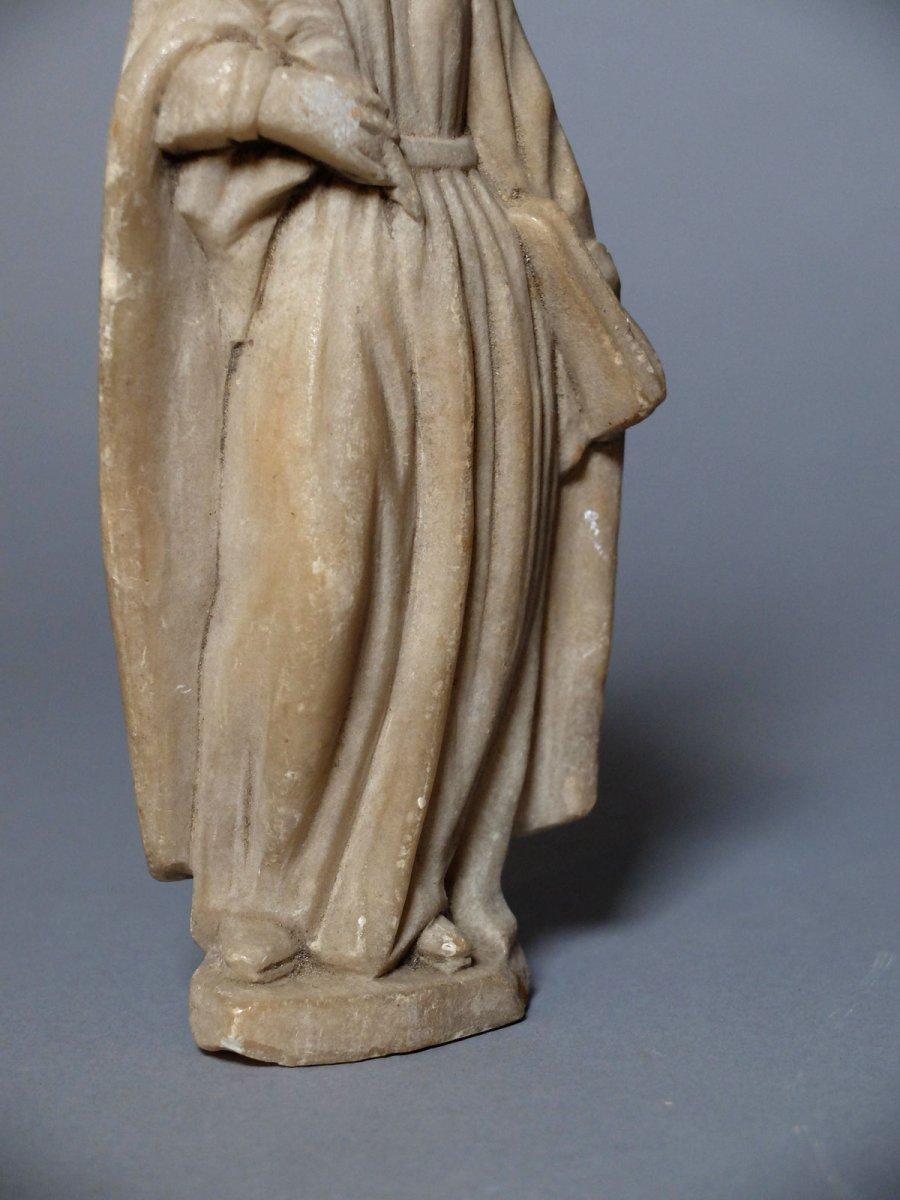 Sainte martyre à la palme - Espagne XVIIème siècle-photo-2