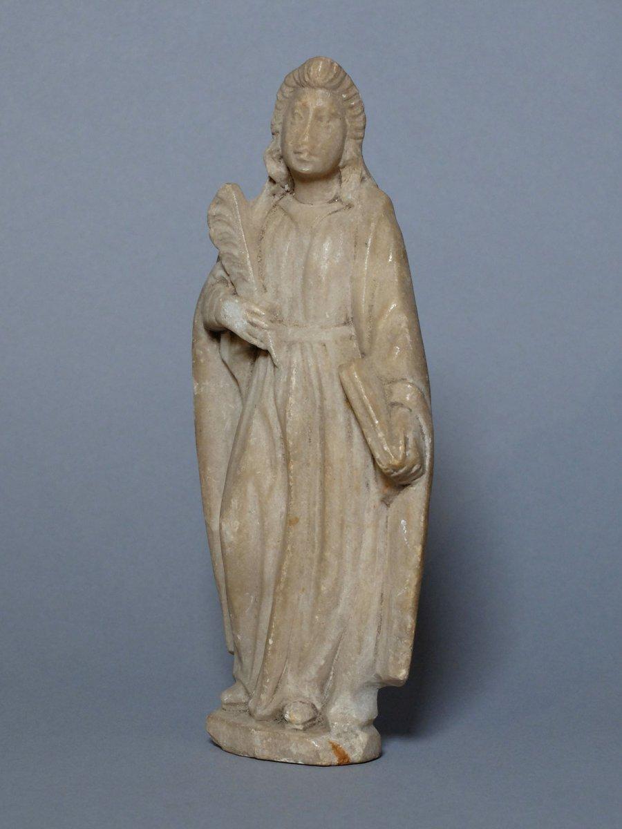 Sainte martyre à la palme - Espagne XVIIème siècle