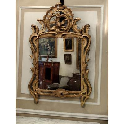 Miroir Provençal D'époque Louis XV