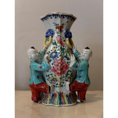 Vase Aux Chinois - Compagnie Des Indes