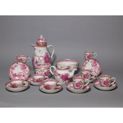Porcelain Tea And Coffee Service From Meissen