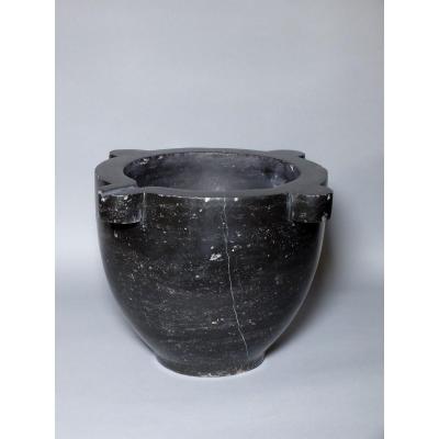 Important mortier en marbre - XIXème siècle