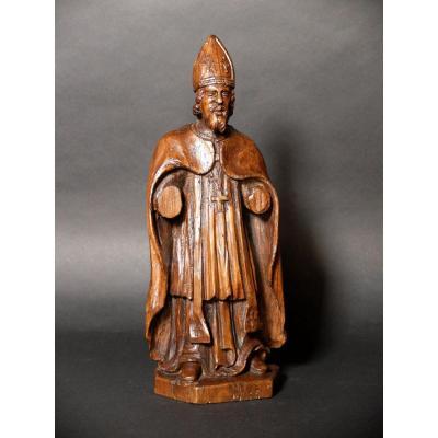 Sculpture d'évêque - XIXème siècle