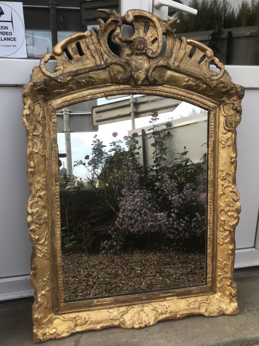 Miroir D'époque Régence 101 X 69 Cm