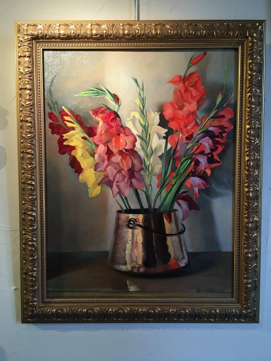 Bouquet De Glaïeuls Années 60-70