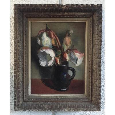 Bouquet de Fleurs d'Hellébores, par Charles Kvapil