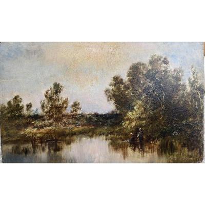 Lavandières, Paul Vernon, 1796-1895
