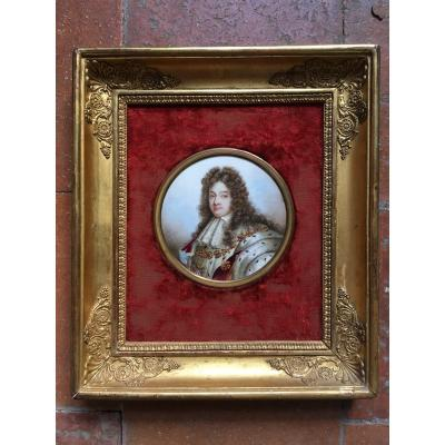 Portrait De Louis XIV En Costume De Sacre, Restauration