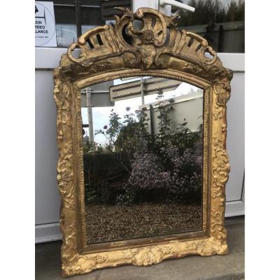 Regency Period Mirror 101 X 69 Cm