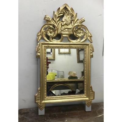 Louis XVI Style Mirror, 75x42 Cm