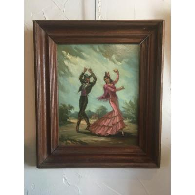 Les Danseurs De Flamenco Par Salvador Sanchis