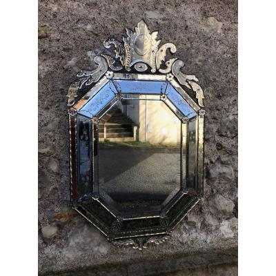 XIXth Venetian Mirror