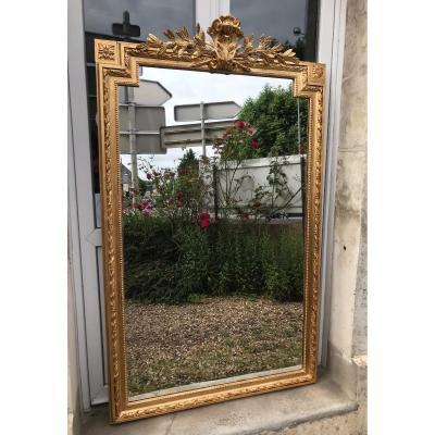 Miroir Style Louis XVI 170 X 102 Cm
