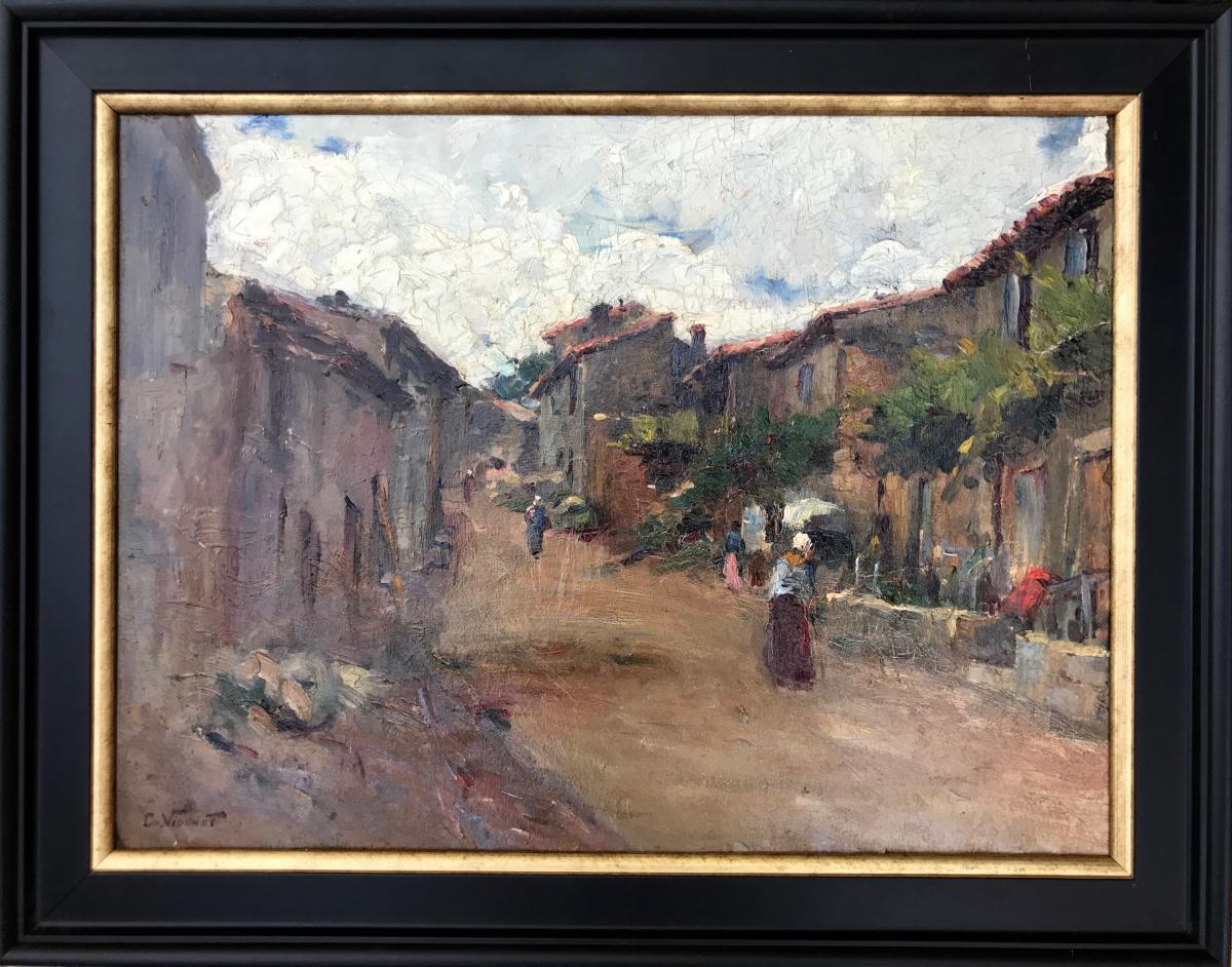 Charles Vionnet (1858-1923)- Villeneuve-lez-avignon