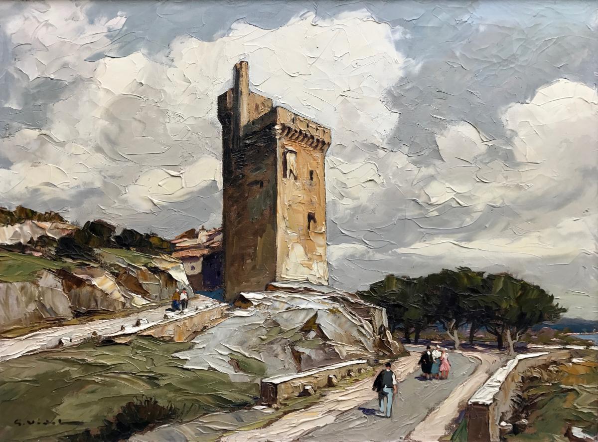 Gustave Vidal (1895-1966)-avignon