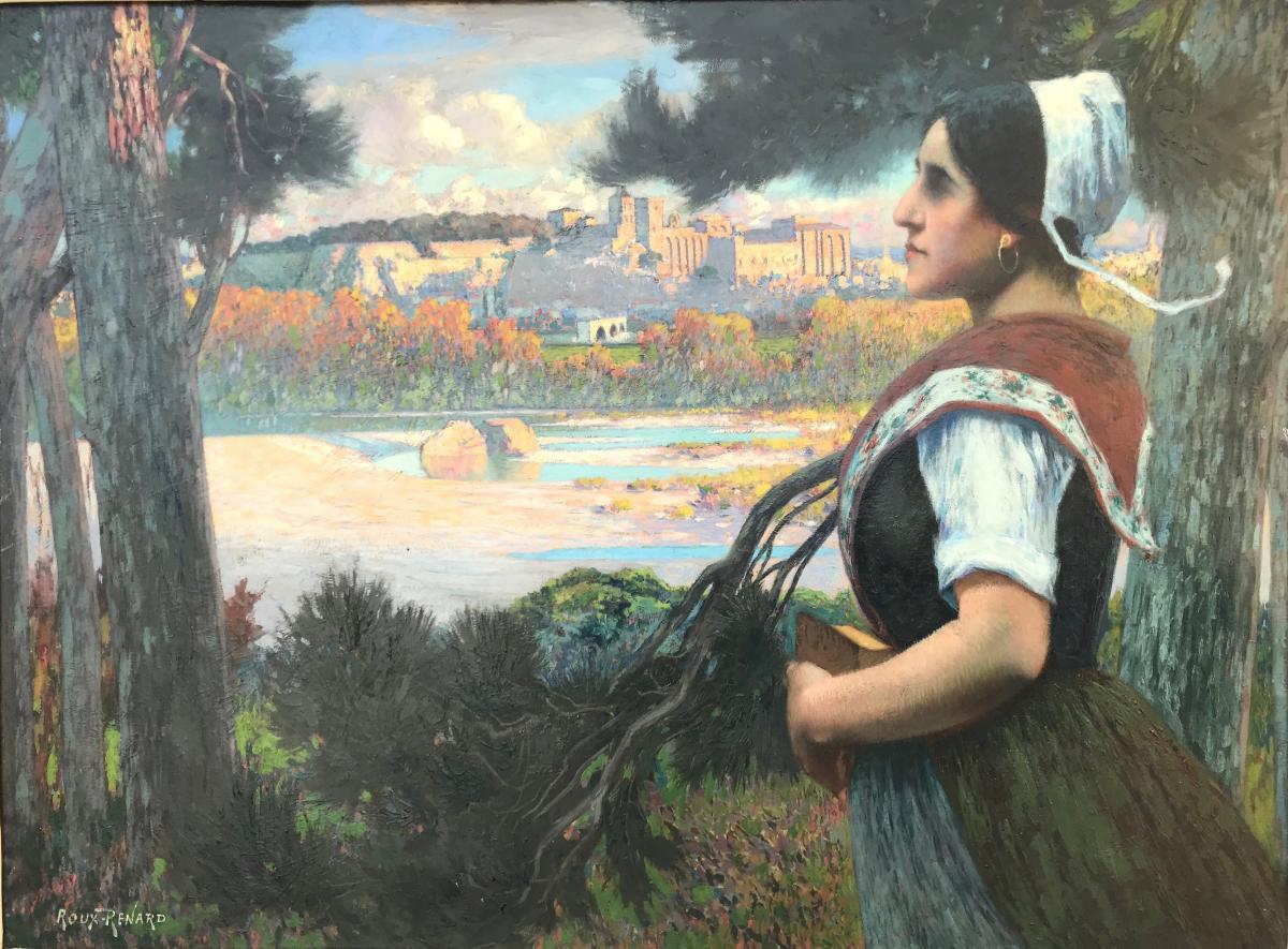 Marius Roux-Renard (1870-1936)-Avignon-Provence-Comtadine