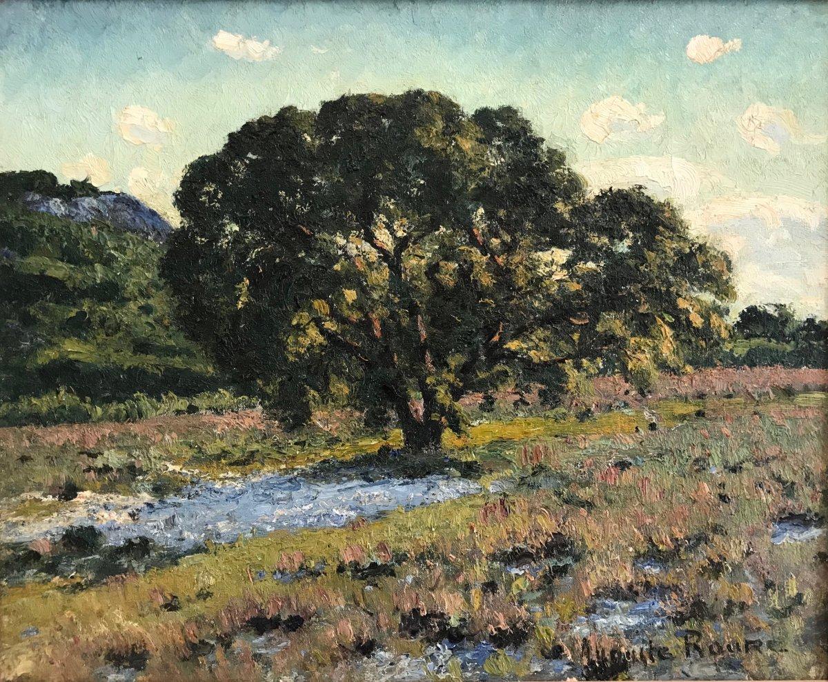 Auguste Roure (1878-1936)-pujaut-avignon-provence-le Chêne Vert