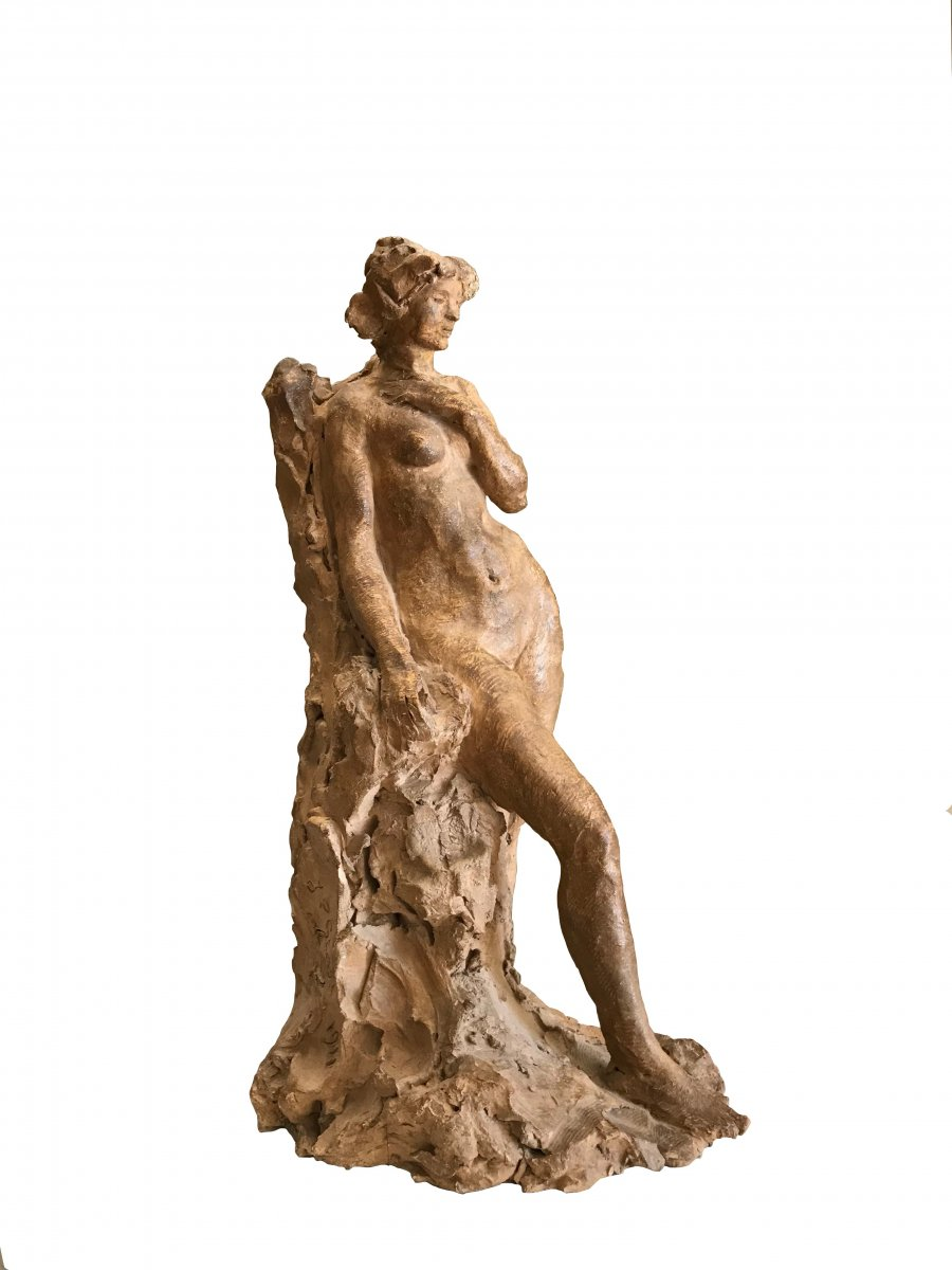 Jean-pierre Gras (1879-1964) -avignon-congratulations-provence-the Reverie 1911