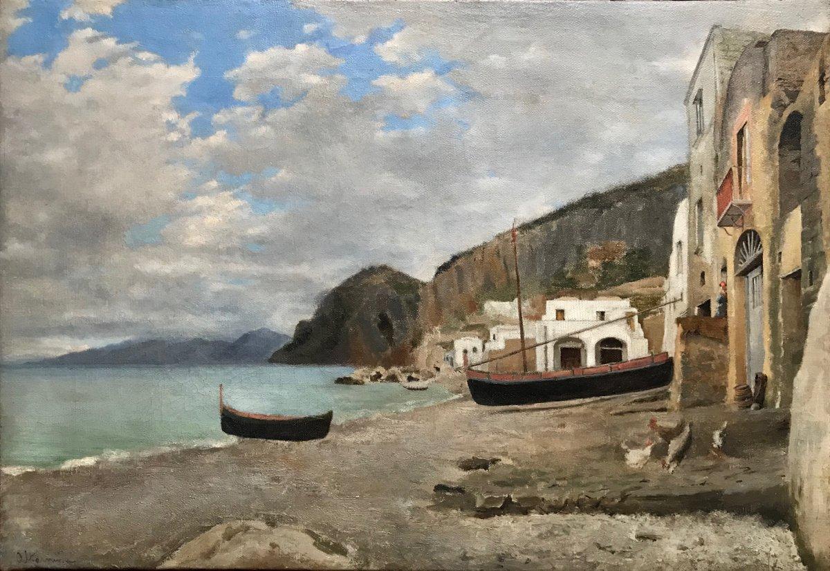Ioannis Altamouras (1852-1878) -naples-greece-italy-athens-marine