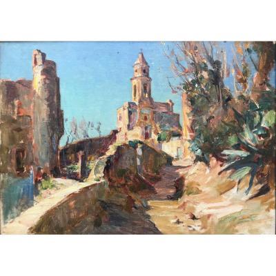 Louis Montagné (1879-1960)-Espagne-Avignon-Provence-