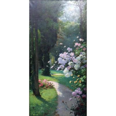 Antoine Grivolas (1843-1902)-Avignon-Provence-fleurs