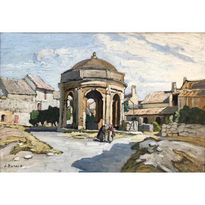 Joseph Hurard (1887-1956)-Avignon-Provence-Chartreuse