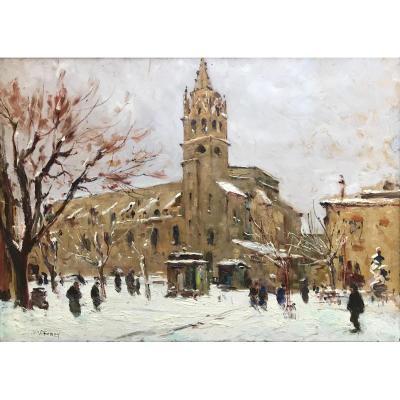 Charles Vionnet (1858-1923)-Avignon-Provence