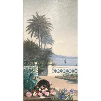 Lina Bill (1855-1936) -gruissan-avignon-provence-toulon-saint-tropez