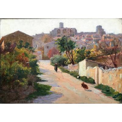 Charles Vionnet (1858-1923)-Avignon-Provence-châteauneuf-de-Gadagne