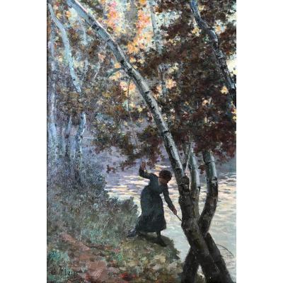 Jules Flour (1864-1921)-Berthe Pichot-Avignon-Provence