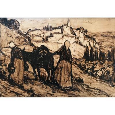 Joseph Hurard (1887-1956) -avignon-villeneuve-provence