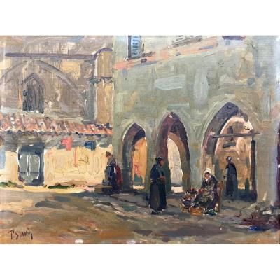 Fernand Salkin (1862-1937) -marseille-provence-villeneuve Les Avignon