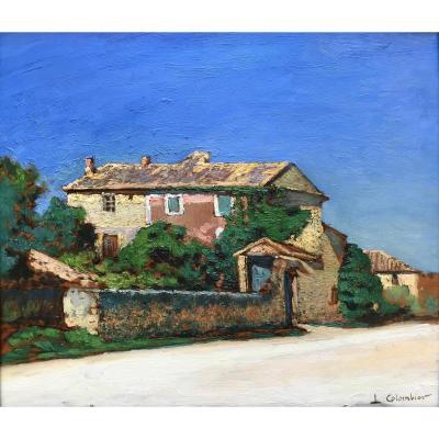 Léon Colombier (1869-1960) -cavaillon-avignon-provence-la Bastide
