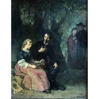 Charles Ronot (1820-1895) -dijon-belan-sur-ource-paris