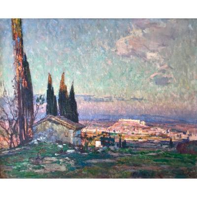 Louis Montagné (1879-1960) - Avignon-provence-les Angles-group Des Treize-villeneuve