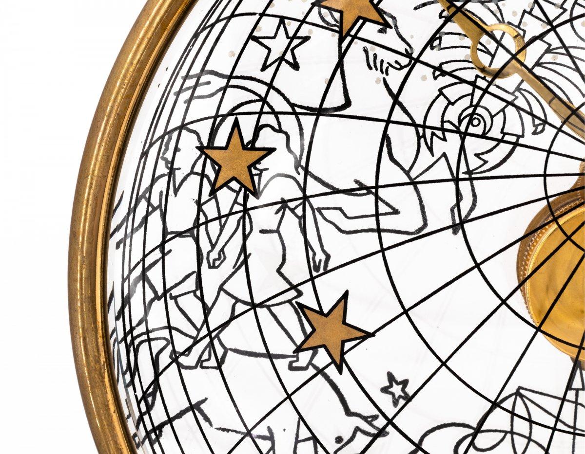Jaeger-lecoultre Zodiaque Montre Pendulette, Baguette Mouvement-photo-3