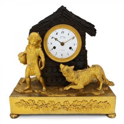 Empire Française Horloge