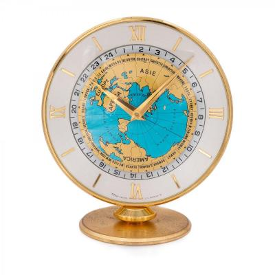 Imhof Heure Universelle Montre Pendulette