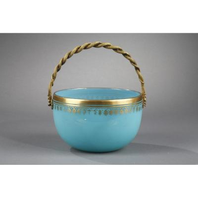 Charles X Blue Opaline Cup.