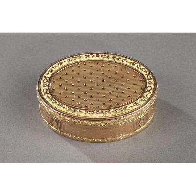Louis XVI Gold Box.
