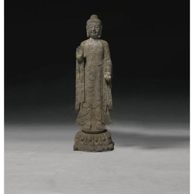 Sculpture Of Buddha In Stone