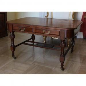 Table Bureau Avec Tiroirs