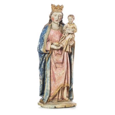 """ Notre Dame Couronnee "" XV Eme Siecle"