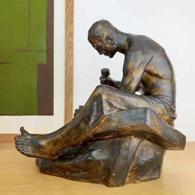 Constantin Meunier (1831-1905) - Le tailleur de pierre.
