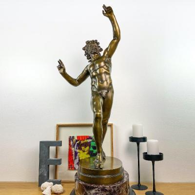 Dancing Faun, Souvenir Of The Grand Tour - Pietro Chiapparelli