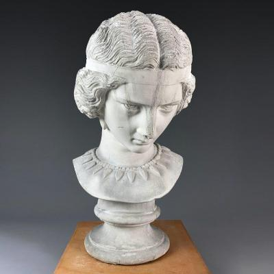 Bust Of Sappho By James Pradier