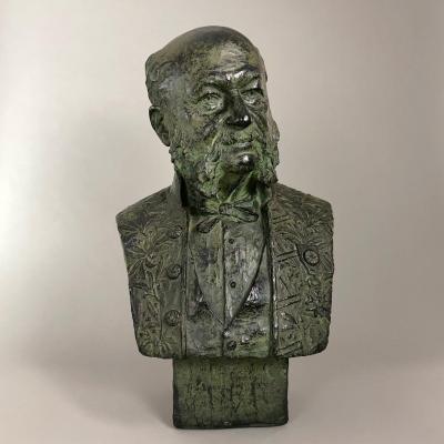 Anne De Chardonnet - Bust Of The Artist's Father - Plaster
