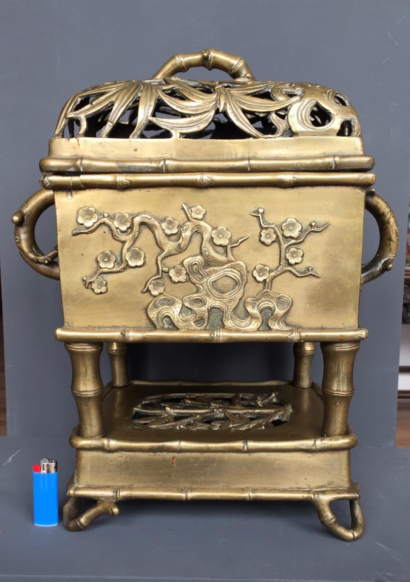 Important Brule Perfume In Bronze China XVII Eme Century