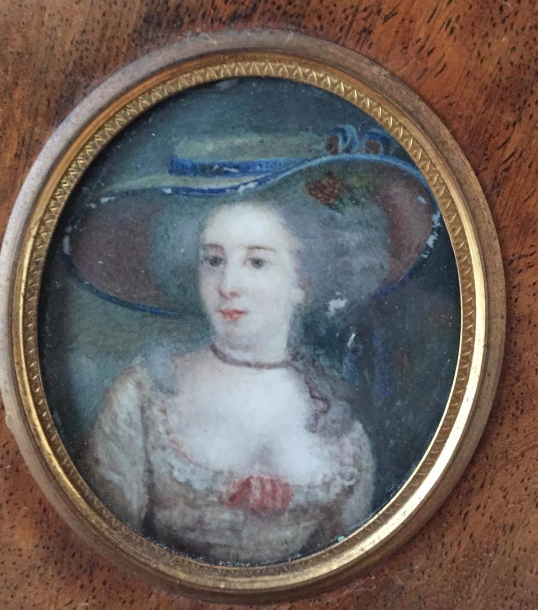 Miniature 18 Th Century